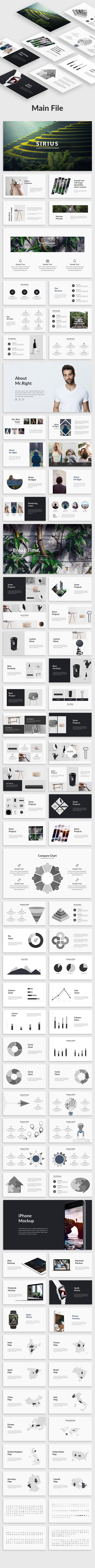 Sirius - Creative Powerpoint Template - Creative PowerPoint Templates