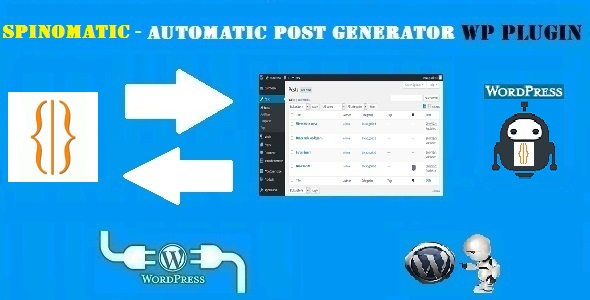 Spinomatic Spintax Post Generator Plugin for WordPress - CodeCanyon Item for Sale
