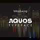 Aquos Typeface - GraphicRiver Item for Sale