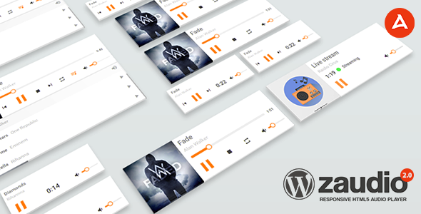 zAudio for WordPress - HTML5 JavaScript Audio Player - CodeCanyon Item for Sale