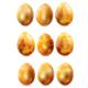Set of Golden Easter Eggs - GraphicRiver Item for Sale