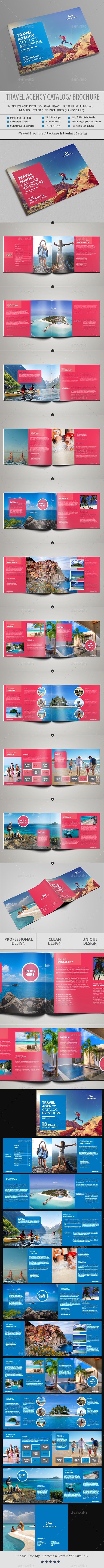 Travel Agency Catalog / Brochure - Catalogs Brochures