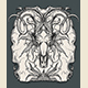 Ram Skull Engraving Illustration - GraphicRiver Item for Sale
