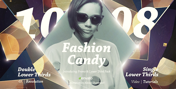 Fashion Candy | Introducing Promo & Lower Third Pack
