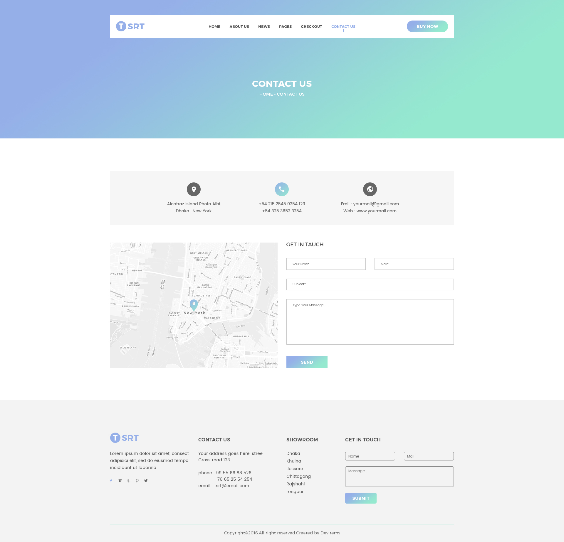 Tsrt single product psd template by shopify themes for Contact us template free download