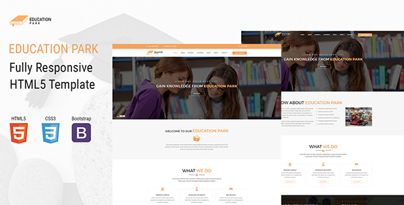 EducationPark - Education & University HTML Template