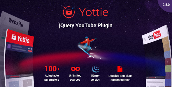 YouTube Gallery - jQuery Plugin for YouTube - CodeCanyon Item for Sale