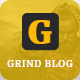 Grind Blog and Magazine Template - ThemeForest Item for Sale