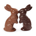 Chocolate Easter bunnies kissing - PhotoDune Item for Sale