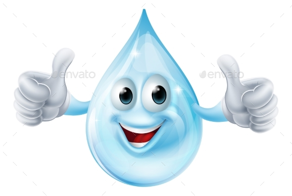 Water Drop Character - Miscellaneous Characters