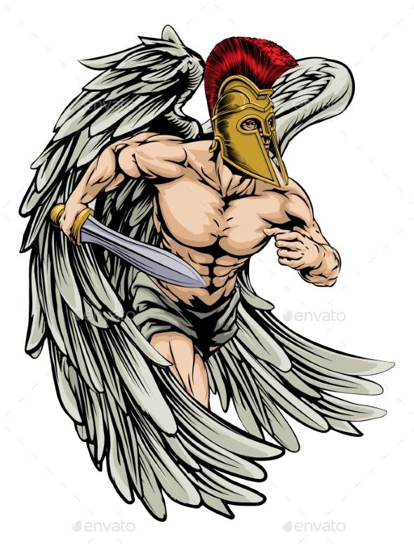 Warrior Angel - Sports/Activity Conceptual