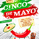 Cinco de Mayo Party Poster vol.5
