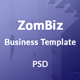 ZomBiz Business PSD Template - ThemeForest Item for Sale