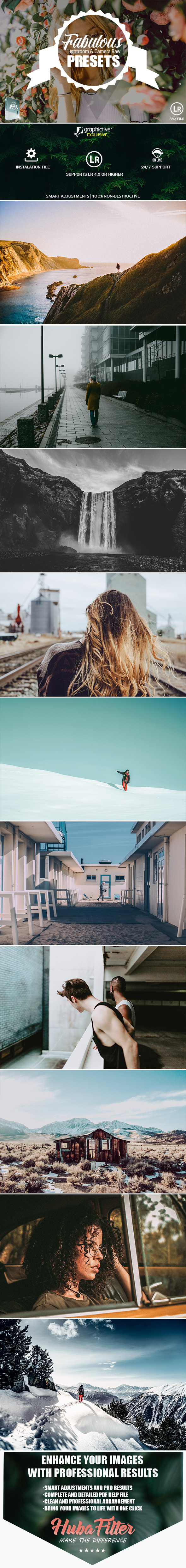 35 Fabulous Collection Presets For Lightroom & Camera Raw - Lightroom Presets Add-ons