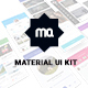 Material Mobile UI Kit - GraphicRiver Item for Sale