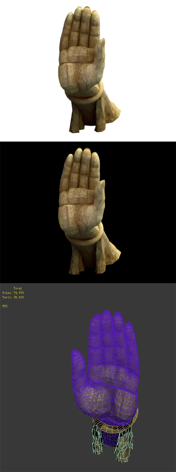 Game Model - Buddha statue of the Kasabe Buddha Forest - 3DOcean Item for Sale