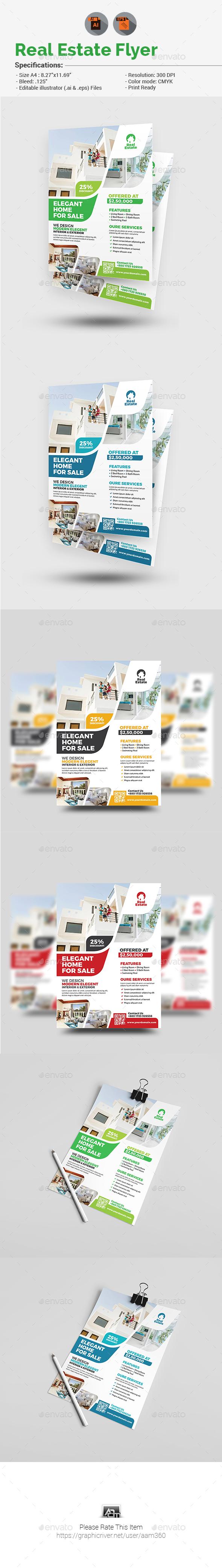 Real Estate Flyer V3 - Corporate Flyers