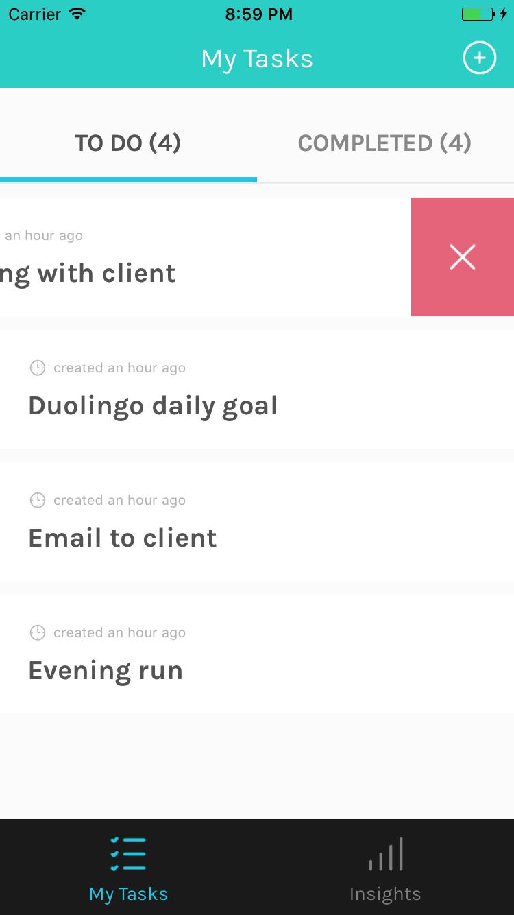 Tudu - A React Native todo-list