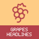 grapesHeadlines - Animated Headers