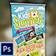 Kids Summer Camp Banner - GraphicRiver Item for Sale