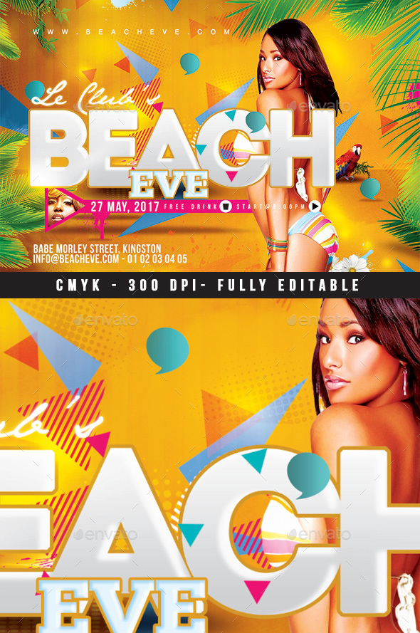 Beach Eve - Clubs & Parties Events