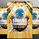 Bowling Championship Flyer Template - GraphicRiver Item for Sale