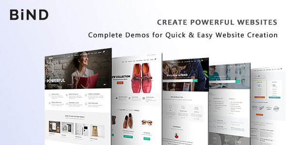 Bind – Creative Multi-Purpose Responsive Theme