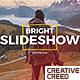 Bright Slideshow - VideoHive Item for Sale