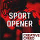 Sport Media Opener - VideoHive Item for Sale