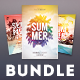 Summer Flyer Bundle Vol.16 - GraphicRiver Item for Sale