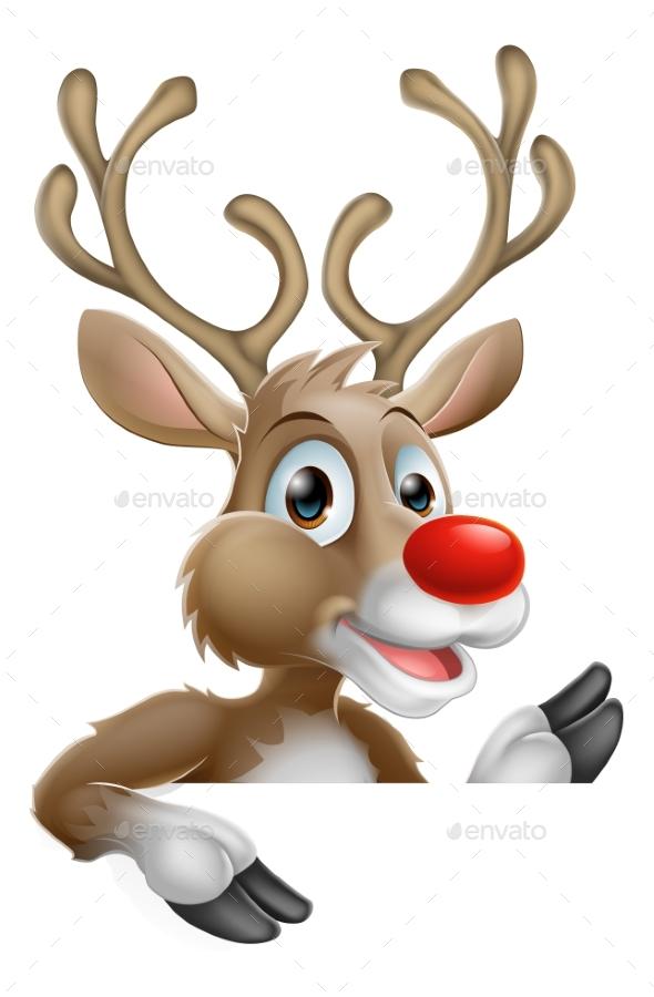 Christmas Reindeer - Seasons/Holidays Conceptual