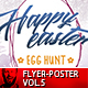 Easter Egg Hunt Flyer/Poster Vol.1 - GraphicRiver Item for Sale
