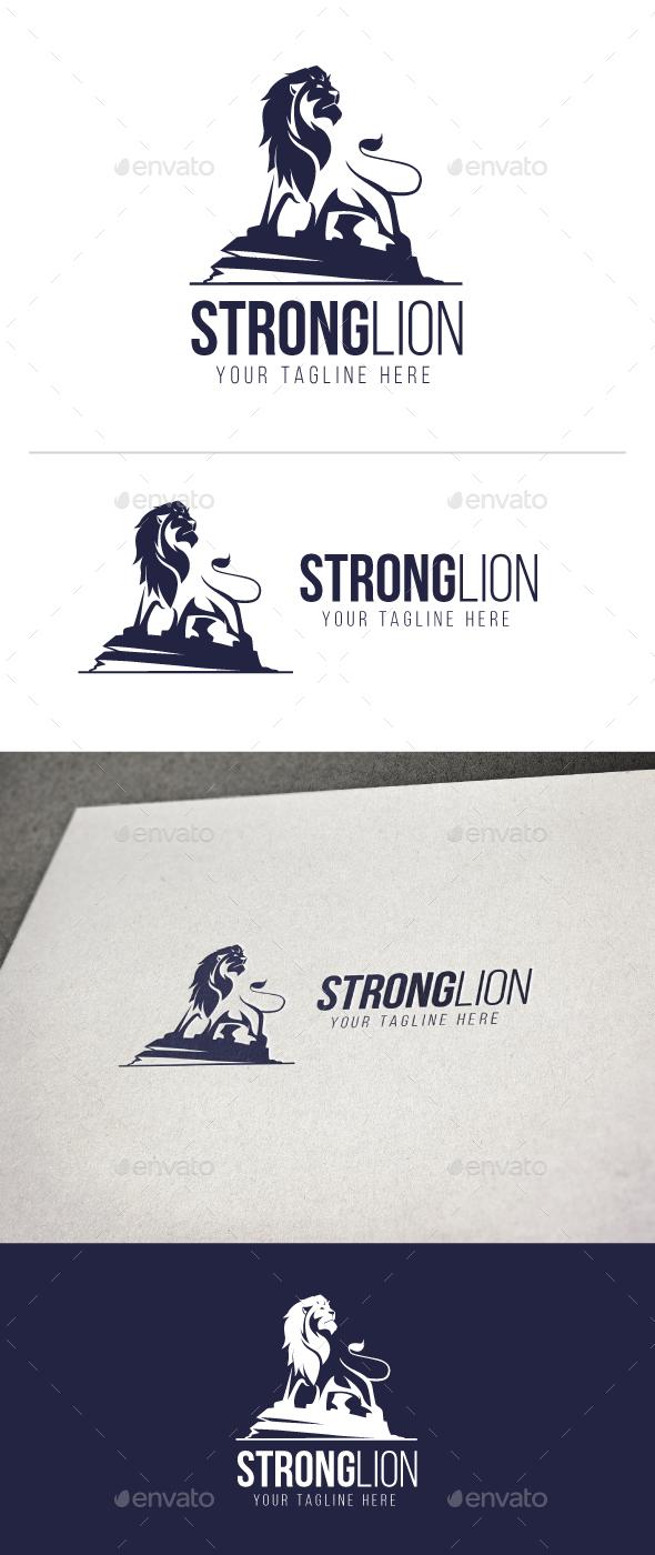Strong Lion - Animals Logo Templates