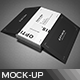 Business Card Mock-Up V1 - GraphicRiver Item for Sale