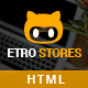 EtroStore - Responsive & Multi-Purpose HTML5 Template - ThemeForest Item for Sale