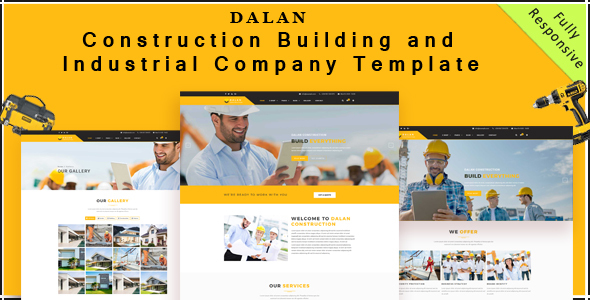 Dalan – Construction , Building and Industrial Company HTML5 Template