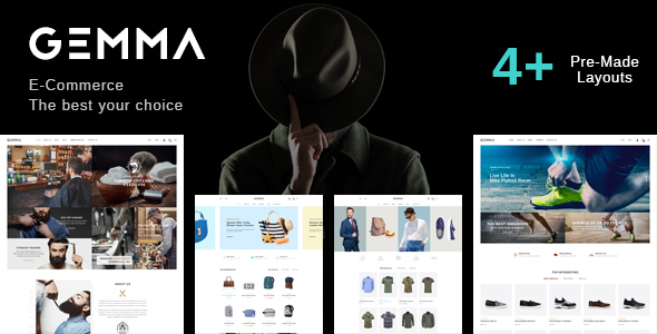 Gemma - Multistore Responsive Magento Theme