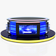 Virtual Tv Studio News Desk 12 - 3DOcean Item for Sale