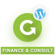 Finance WordPress Theme | GoAhead Finance - ThemeForest Item for Sale