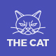The Cat - PSD Template for Pet Shop and Care Organisations