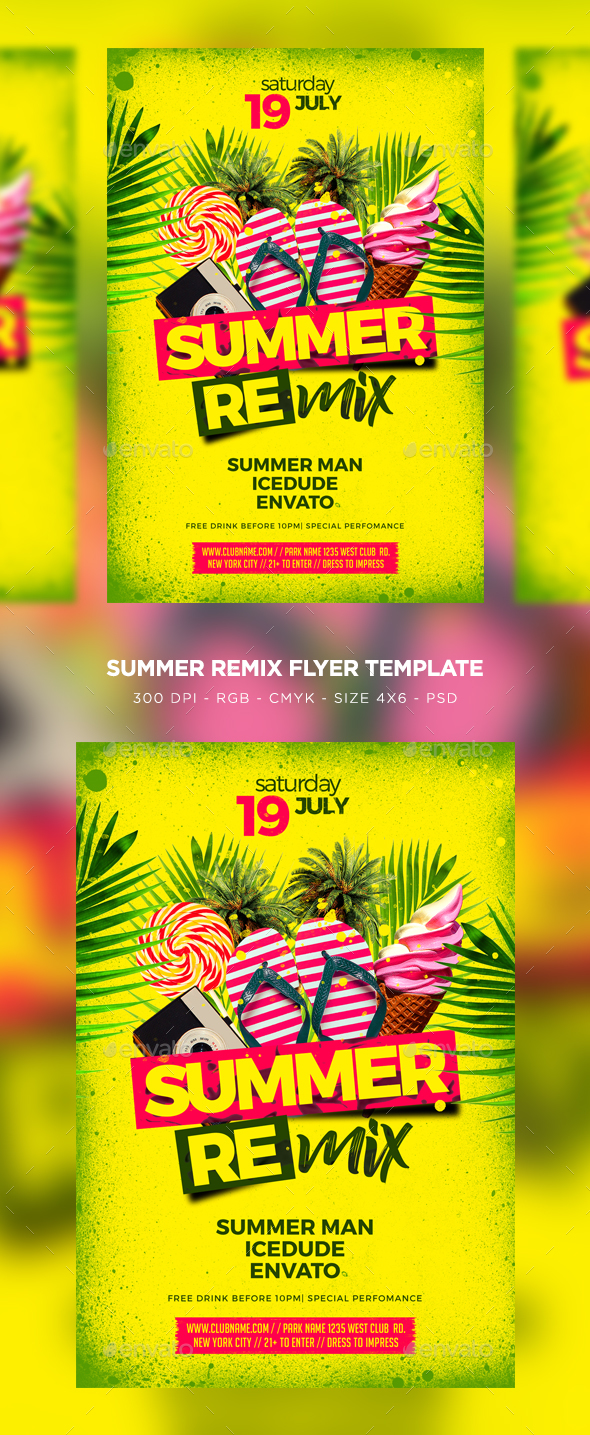 Summer Remix - Clubs & Parties Events