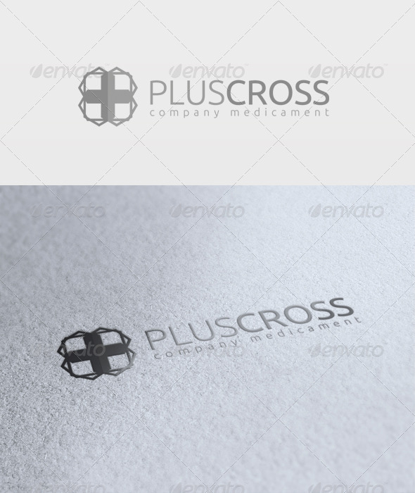 Plus Cross Logo - Symbols Logo Templates