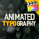 Animated Typography Titles for FCPX - VideoHive Item for Sale