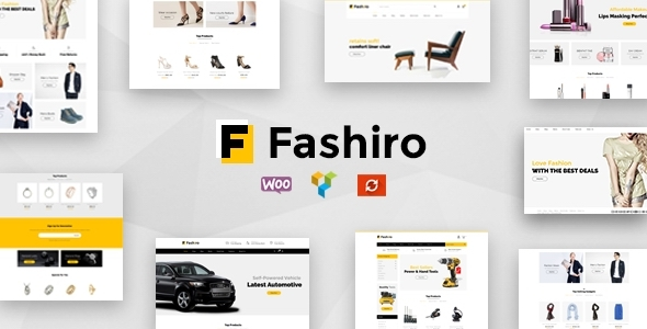 Fashiro – Multipurpose WooCommerce Theme