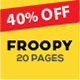 Froopy - One Page Responsive Multipurpose HTML5 - ThemeForest Item for Sale