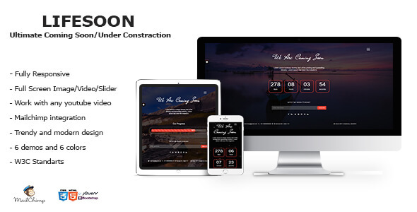 LIFESOON – Multi-Purpose Under Construction/Coming Soon