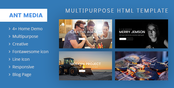 ANT Multipurpose Template