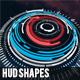 130+ HUD Shapes - GraphicRiver Item for Sale