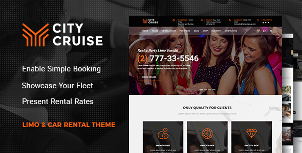 City Cruise – A Limousine and Car Rental Theme