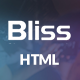 Bliss - Bootstrap Landing Page HTML Template - ThemeForest Item for Sale